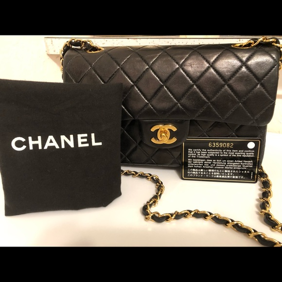 CHANEL Handbags - Chanel Classic Double Flap Bag - small